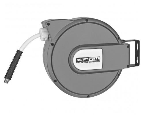 Катушка со шлангом для воздуха 10 м KraftWell KRW1731.C5