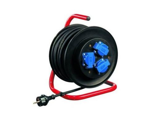 Удлинитель промышленный 25м LENA LIGHTING THREE-SOCKET IP44 EXTENSION REEL