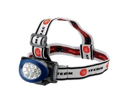 Фонарь светодиодный налобный 10 LED STERN 90562