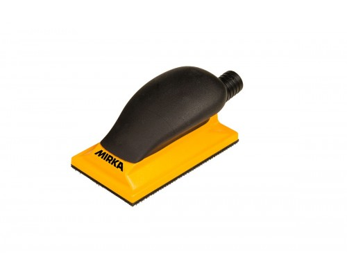 Блок шлифовальный с пылеотводом MIRKA Sanding Block Grip 13H Yellow