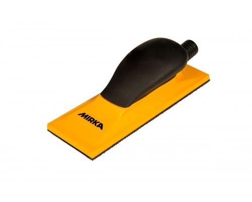 Блок шлифовальный с пылеотводом MIRKA Sanding Block Grip 22H Yellow