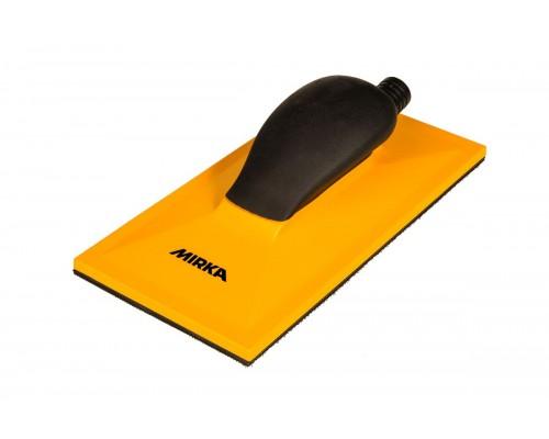 Блок шлифовальный с пылеотводом MIRKA Sanding Block Grip 32H Yellow