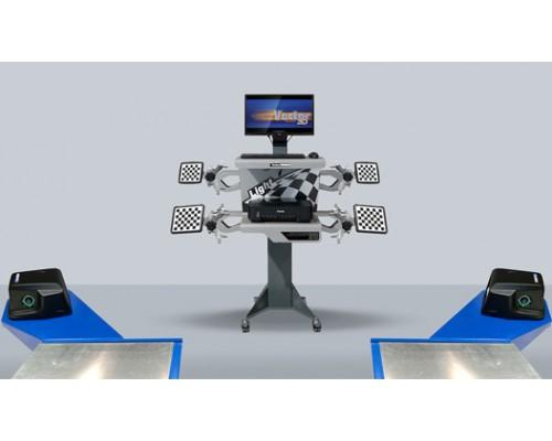 Стенд компьютерный сход-развал 3D ТехноВектор 7 7202 МС