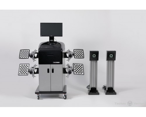 Стенд компьютерный сход-развал 3D ТехноВектор 7202M 5 A