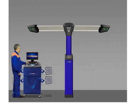 Стенд компьютерный сход-развал 3D ТехноВектор 7204T Premium