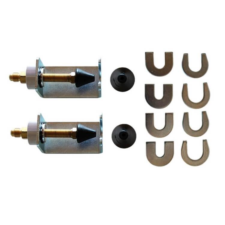 набор переходников для промывки систем кондиционирования SPIN 01.000.96